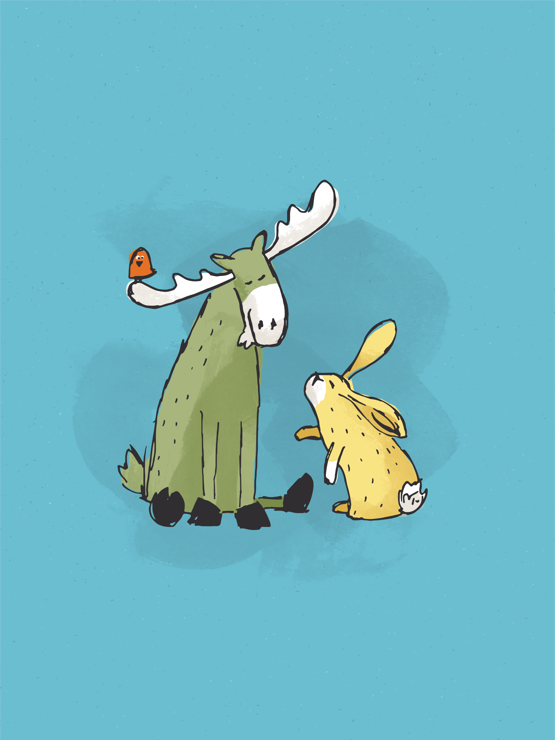 Lop + Lore: Bunny and Moose